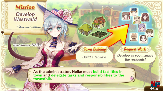 Screenshot - Nelke & the Legendary Alchemists: Ateliers of the New World (PS4)