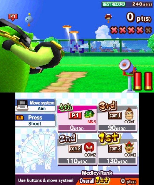 Screenshot - Mario & Sonic bei den Olympischen Spielen: London 2012 (3DS) 2304962