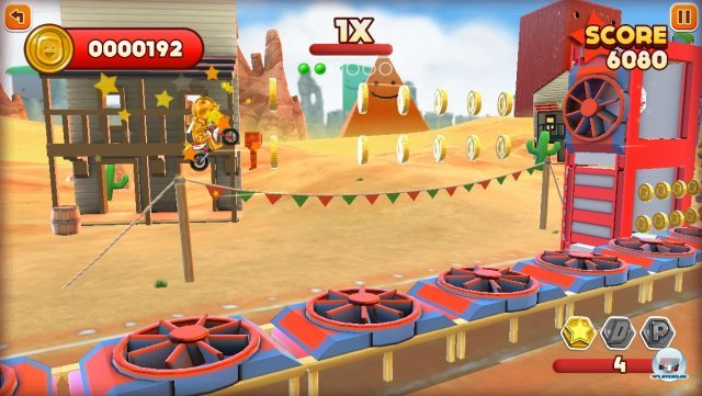 Screenshot - Joe Danger Touch (iPhone) 92439432