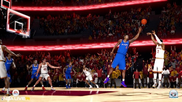 Screenshot - NBA Live 14 (PlayStation4)