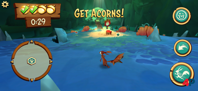 Screenshot - Acron: Attack of the Squirrels! (Android) 92595381