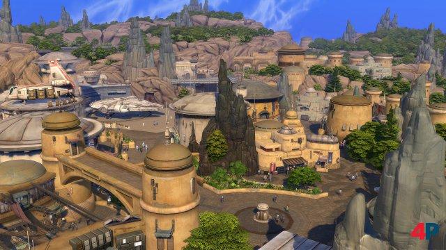 Screenshot - Die Sims 4 Star Wars: Reise nach Batuu-Gameplay-Pack (PC, PS4, One)