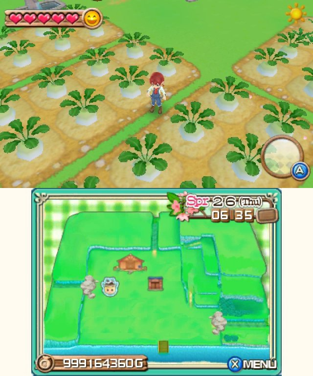Screenshot - Harvest Moon 3D: A New Beginning (3DS) 92469871