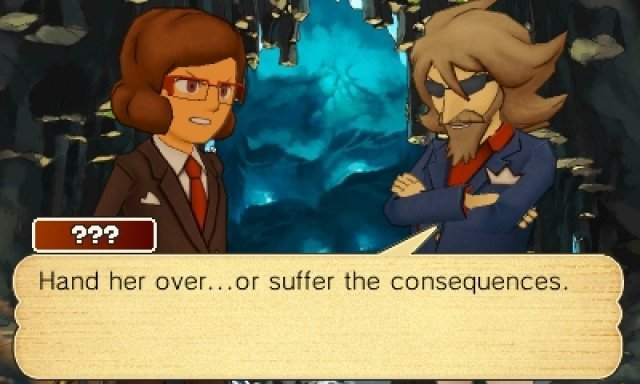 Screenshot - Professor Layton and the Azran Legacy (3DS) 92466006