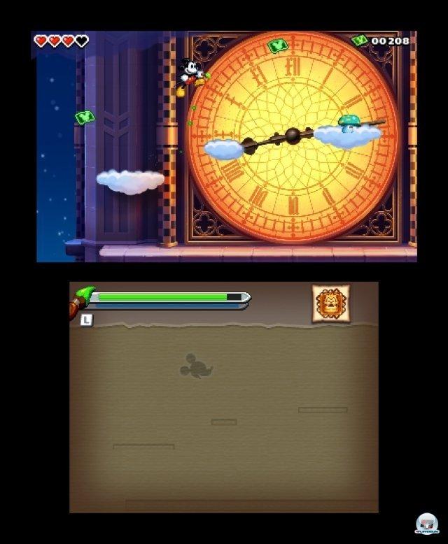 Screenshot - Micky Epic - Die Macht der Fantasie (3DS) 2384982