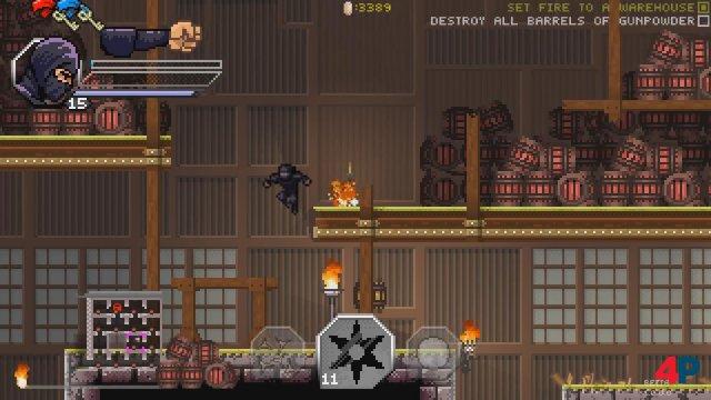 Screenshot - Pixel Shinobi: Nine demons of Mamoru (PC) 92594178