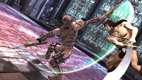 Conan<br><br>Er hat einen Krummsäbel, der größer ist, als die meisten seiner Gegner. Wie konnte man diesen Hippie bislang nur vernachlässigen? Nachteil für jüngere Spieler: Allein aufgrund seines Auftritts wird Soul Calibur 4 die Jugendfreigabe verweigert. 1742273