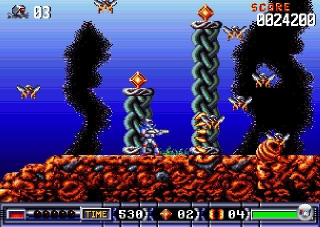 <b>Turrican</b><br><br>Lieber Manfred Trenz: In letzter Zeit wurden viele klassische Jump'n'Run -Serien intelligent wiederbelebt. Ich denke da an Bionic Commando Rearmed, Ultimate Ghosts'n Goblins, Contra 4 oder Mega Man 9. Turrican ist eine klassische Jump'n'Run-Serie. Sehr klassisch. Ich stelle einfach nur interessante Fakten in den Raum, sonst nichts. Mal zum Drüber-Nachdenken oder so. 1966083