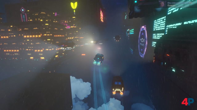 Screenshot - Cloudpunk (PC) 92605957