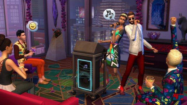 Screenshot - Die Sims 4: Großstadtleben (Mac)
