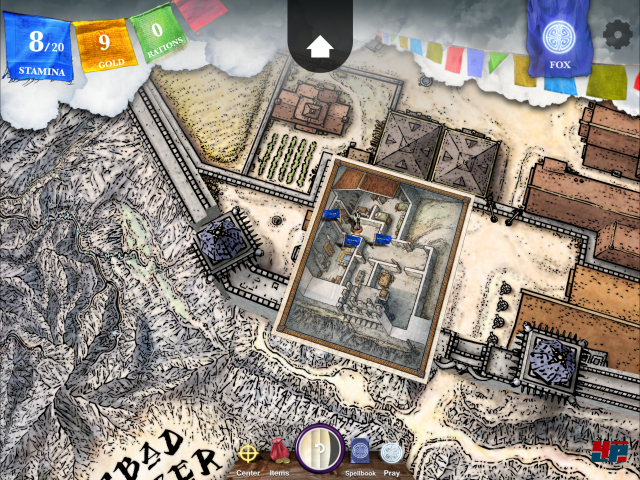 Screenshot - Sorcery! 4- The Crown of Kings (iPad) 92535370