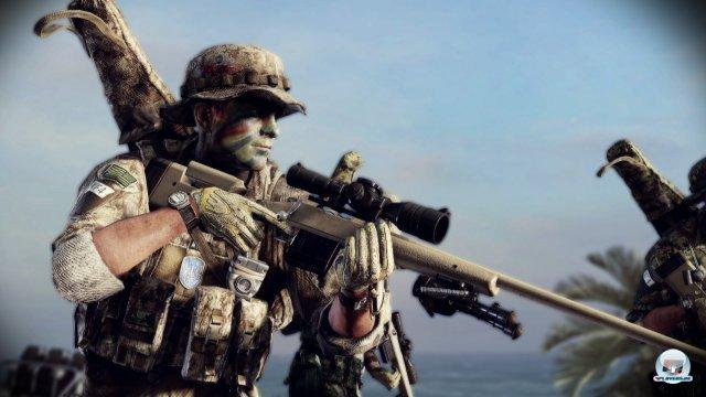 Insgesamt stehen sechs Klassen vom Sturmangriff bis zum Scharfschützen zur Auswahl.