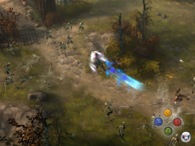 <b>Blizzard entdeckt endlich den Konsolenmarkt</b><br><br>Natürlich wissen wir, dass es in der Vergangenheit bereits diverse Blizzard-Spiele (u.a. die frühen Games, die noch unter dem Namen »Silicon & Synapse« entwickelt wurden) auf Konsolen gab. Aber eben nur in der Vergangenheit. Der letzte Pad-Ausflug wäre StarCraft Ghost gewesen, und wir alle wissen ja, welchen Weg Nova einschlug: Ohne über Los zu gehen direkt in die Development Hell. Wäre Diablo 3 nicht super für ochsagenwirmal Xbox Live? Das PSN könnte sich unter Umständen auch irgendwie anbieten, nicht? Tjaja... 1812653