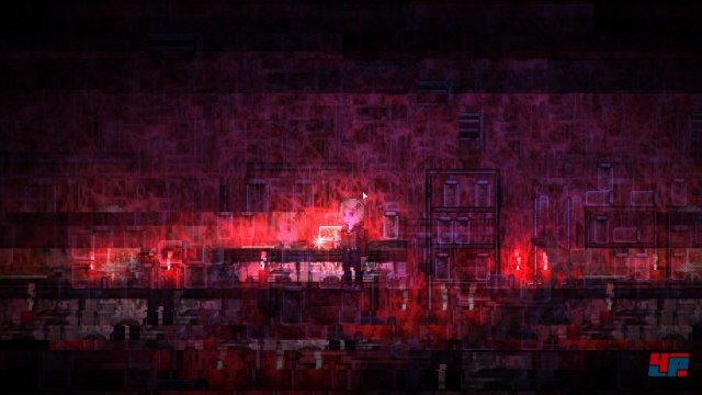 Silent Hill lässt grüßen: Oft zerreißen Bildstörungen das Bild. Manchmal leiten sie Szenenwechsel ein.