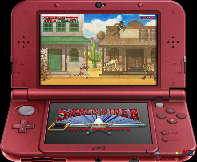 Screenshot - Saber Rider and the Star Sheriffs: The Video Game (N3DS) 92512892