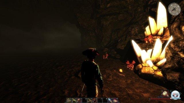 Obwohl es ab und zu mal Fallen gibt, ähneln sich die Höhlen auf Dauer zu sehr - dafür sind sie schnell erkundet.