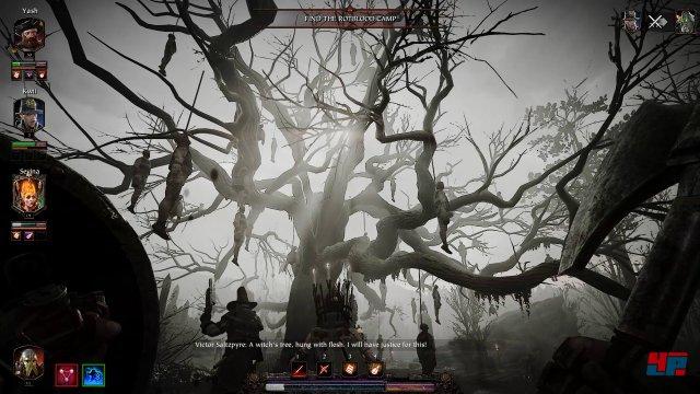 Die Warhammer-Atmosphäre haben die Entwickler stellenweise hervorragend eingefangen. Hier hilft es auch, dass der Charakter gerade über wenig Lebenspunkte verfügt.