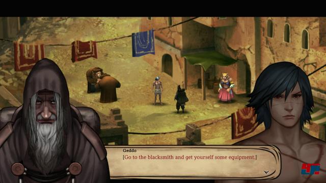 Screenshot - Legrand Legacy: Tale of the Fatebounds (Switch)