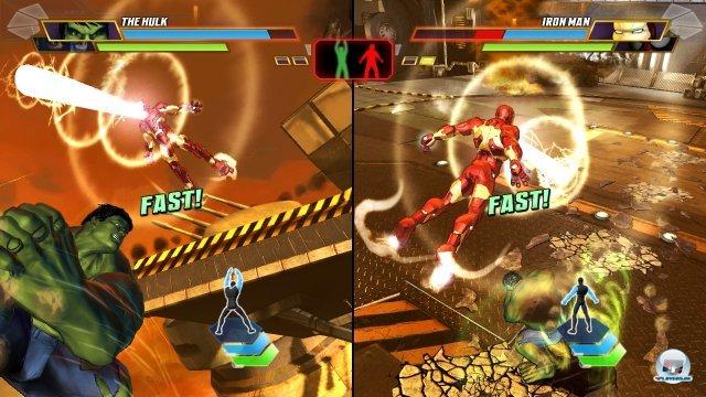 Im Multiplayer kann man nicht nur gegen-, sondern auch miteinander kämpfen.