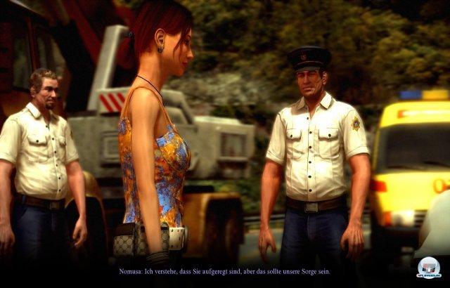 Nachdem Laras Mann Max bei einem fingierten Unfall verschwindet, gerät die Interpol-Agentin in einen mysteriösen Mordfall.