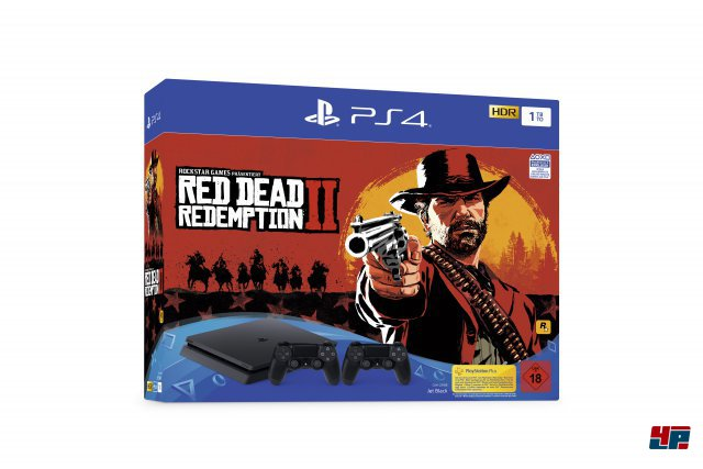 PS4-Bundle mit Red Dead Redemption 2