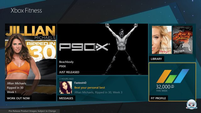 Screenshot - Xbox Fitness (XboxOne)