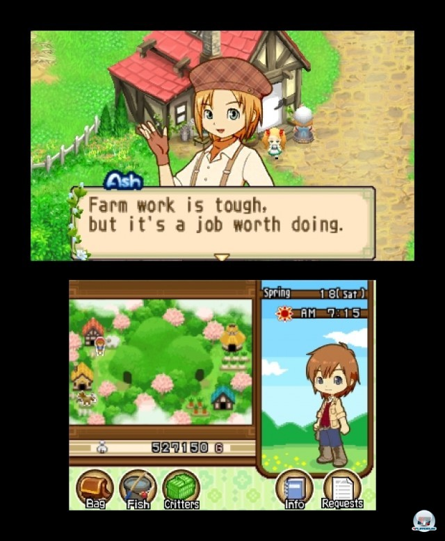 Screenshot - Harvest Moon: The Tale of Two Towns (3DS) 2232232