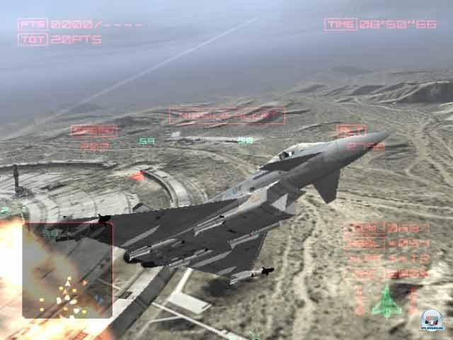 Screenshot - Raging Skies (PlayStation)
