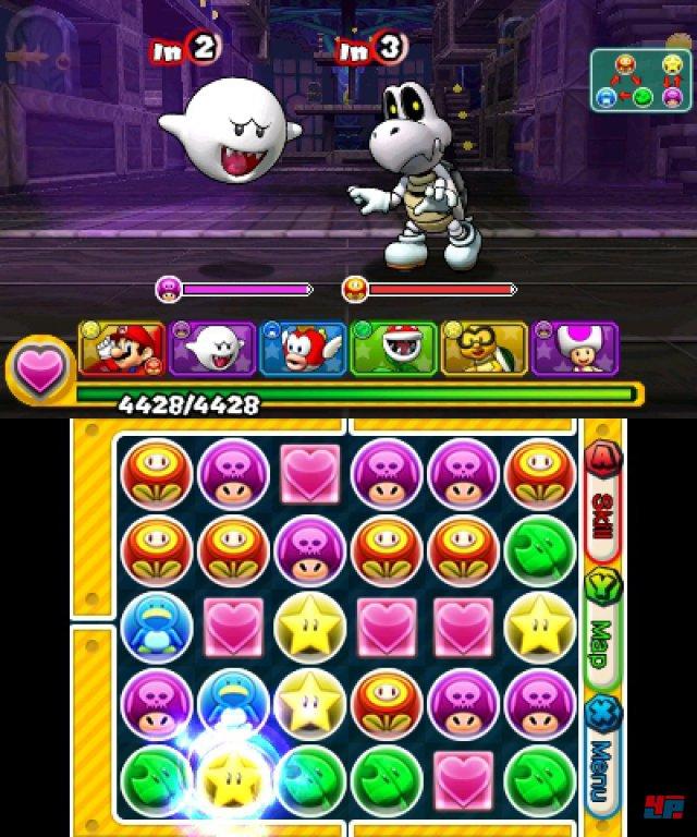 Screenshot - Puzzle & Dragons Z   Puzzle & Dragons Super Mario Bros. Edition (3DS) 92504366