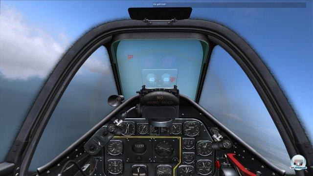 Das erste automatische Visier in der Geschichte der militärischen Luftfahrt.
