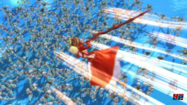 Angesichts des ordentlich umgesetzten Allein-gegen-Alle-Prinzips könnte auch Omega Force hinter der Entwicklung von Fate/Extella stecken.