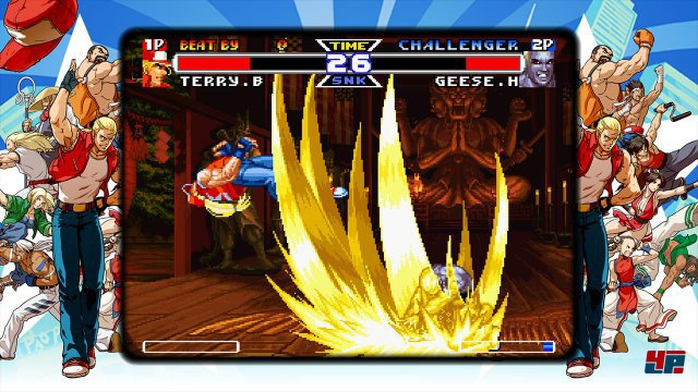 Screenshot - Fatal Fury: Battle Archives - Volume 2 (PS4)