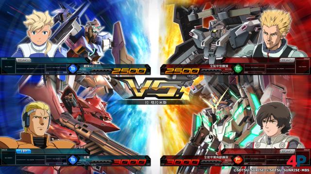 Screenshot - Mobile Suit Gundam Extreme VS. Maxiboost On (PS4)