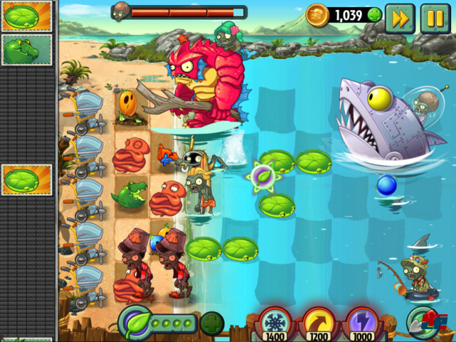 Screenshot - Plants vs. Zombies 2: It's About Time (Android)