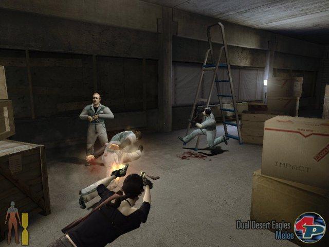 Natürlich wurde auch in der Fortsetzung die Bullet Time zelebriert.