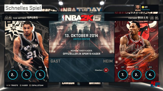 Screenshot - NBA 2K15 (PlayStation4) 92492111