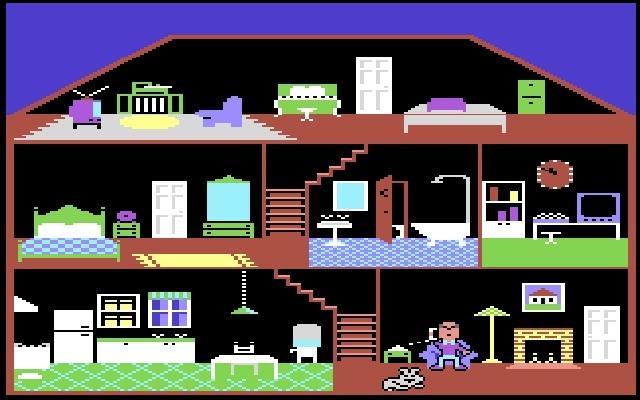 <b>Little Computer People</b> (1985)<br> Entwickler: David Crane<br> Publisher: Activision 1748418