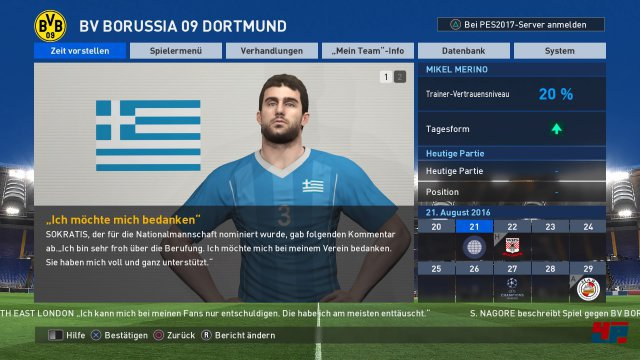 Screenshot - Pro Evolution Soccer 2017 (PS4) 92533217