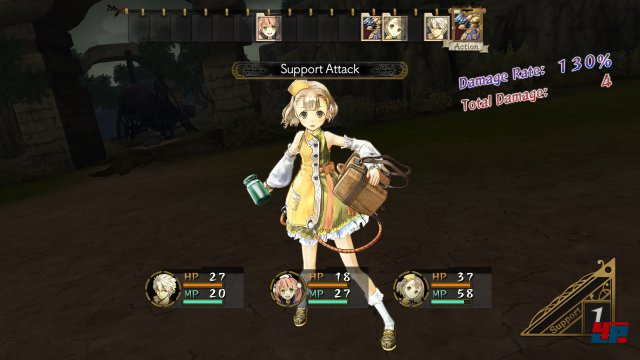 Screenshot - Atelier Escha & Logy: Alchemists of the Dusk Sky (PlayStation3)