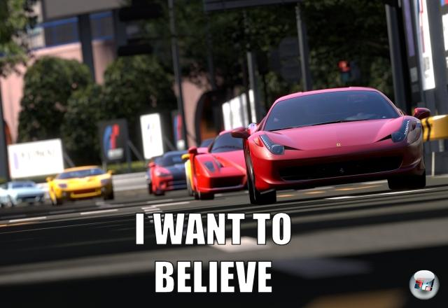 <b>Lebt Gran Turismo 5 noch?</b><br><br> Oder bleibt es für alle Zeiten bei 90% Entwicklungsfortschritt hängen? Vielleicht wird dieser Teil wie seinerzeit Leisure Suit Larry 4 einfach übersprungen und wir dürfen uns gleich auf ein Gran Turismo 6 freuen. Auf der PlayStation 5. 2102903