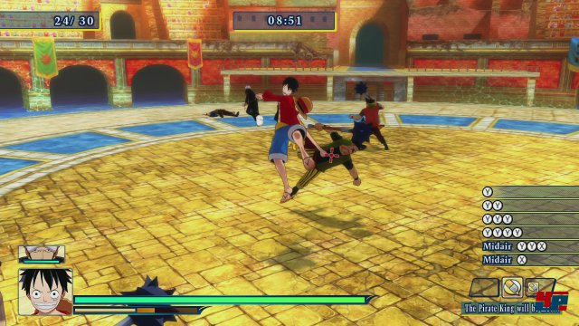 Screenshot - One Piece: Unlimited World Red (PlayStation3) 92484346