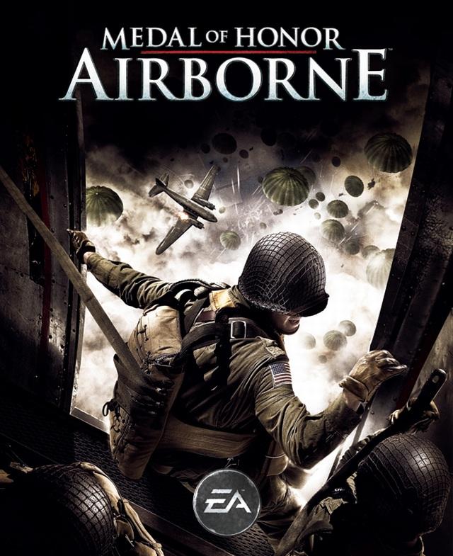 Medal of Honor: Airborne (2007) <br><br> Ein ähnliches Konzept verfolgte man mit Airborne - ganz nebenbei das erste Medal of Honor, das für den PC und die Konsolen (Xbox 360, später PS3) veröffentlicht wurde. Auch hier steht die 82. US-Luftlandedivision im Mittelpunkt, die im späteren Verlauf noch durch die 17. Luftlandedivision ergänzt wird. Als Fallschirmjäger Boyd Travers verschlägt es den Spieler ab 1943 u.a. auf die Schlachtfelder Italiens und an die Westfront. An der musikalischen Front meldete sich dagegen Michael Giacchino zurück, während die ursprünglich geplanten PS2- und Wii-Umsetzung kapitulieren mussten bzw. durch Vanguard ersetzt wurden.  2167453