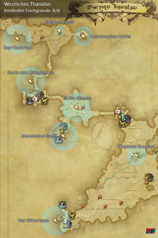 Final Fantasy XIV Online: A Realm Reborn - Fischgründe: Thanalan, Westliches Thanalan