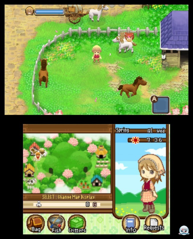 Screenshot - Harvest Moon: The Tale of Two Towns (3DS) 2232139
