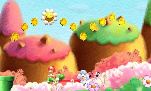 Screenshot - Yoshi's New Island (3DS)