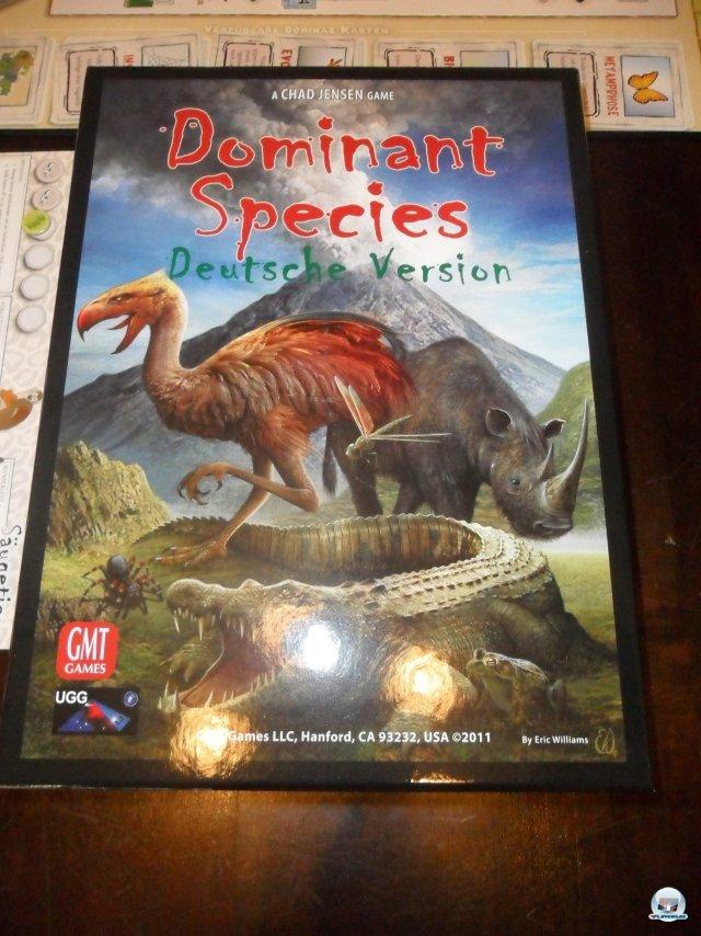 Dominant Species ist in deutscher Version bei Udo Grebe Design erschienen, für zwei bis sechs Spieler konzipiert und kostet knapp 60 Euro.
