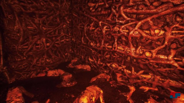 Die Hölle setzt sich zum Großteil aus organischem Material zusammen.