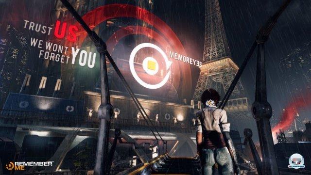 <b>Platz 1: Remember Me</b><br><br>  Die größte Überraschung der gamescom? Ganz klar das futuristische Action-Adventure von Capcom. Es kam aus dem Nichts und weckte mit seiner Gedankenjägerin, die in Erinnerungen wühlt, umgehend die Neugier. Stilistisch erinnert das Ganze an eine Mischung aus Bladerunner und Matrix. Wir haben es zwar in Köln nicht selbst spielen können, aber die ersten Spielszenen zwischen Erkundung und Infiltration haben uns überzeugt. 2391592
