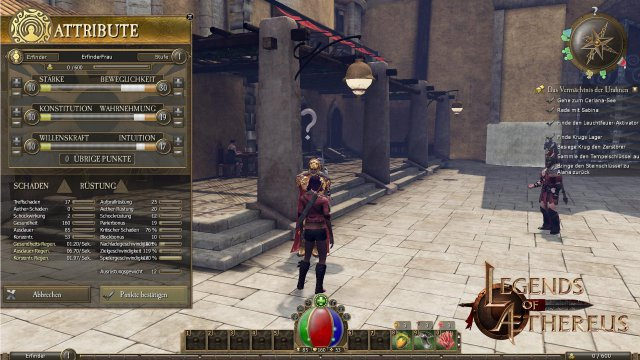 Screenshot - Legends of Aethereus (Mac)
