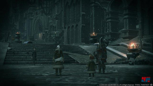 Mit Heavensward öffnen sich erstmals die Tore der heiligen Stadt Ishgard.